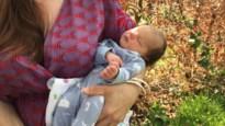 De kleine Morgane, geboren in de auto, op 500 meter van AZ Klina
