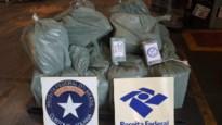 Halve ton cocaïne in lading dierenvoer voor Antwerpen onderschept