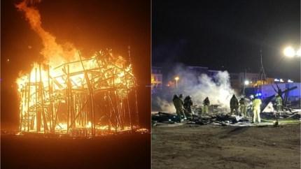 """Toren van Babel in brand gestoken: """"Alsof er een dierbare overleden is"""""""