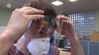 Zorgpersoneel heel erg blij met gezichtsschermen PTS Boom
