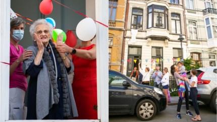 Woonzorgcentrum en buurt bezorgen Julienne een bijzondere 105de verjaardag