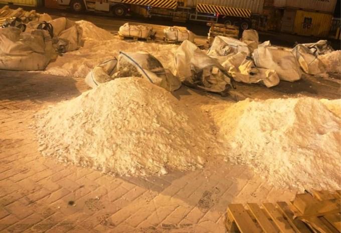 Grote drugsvangst in Pakistan, 700 kilo heroïne onderweg naar Antwerpen