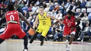 Vrenz Bleijenbergh van Telenet Giants Antwerp in 2021 op NBA-Draft