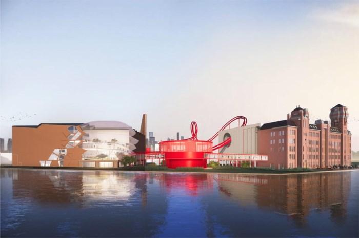 De chocoladefabriek van Tony's Chocolonely krijgt een achtbaan