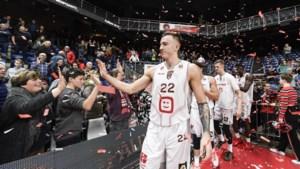 """Speler Antwerp Giants woont in coronatijden weer bij ouders: """"Ik ben nu gebarentaal aan het leren"""""""