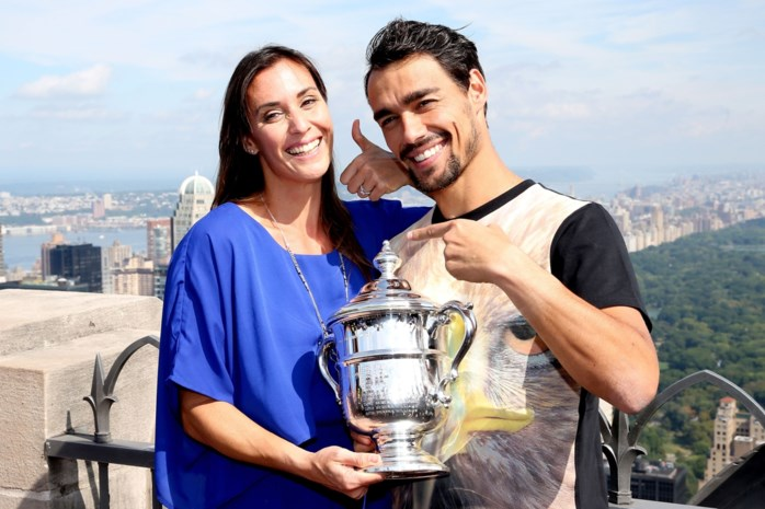 Maakt Italiaanse schone comeback zoals Kim Clijsters dankzij haar man?