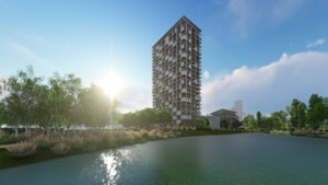 Antwerpen krijgt eerste houten wolkenkrabber van het land