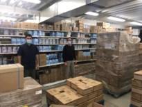 """Alle hens aan dek bij apotheekketen Antverpia: """"Zelfs de kleinkinderen helpen mee in het magazijn"""""""