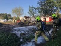 Tractor uitgebrand in Vorselaar
