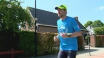 Wim legt 134 kilometer af … in Hove