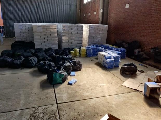 Bende achter lading van 4 ton cocaïne blijft aangehouden