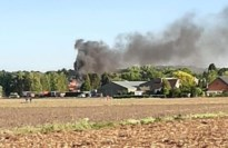 Zware brand net over Belgische grens: bewoners Zandvliet en Berendrecht moeten ramen en deuren sluiten