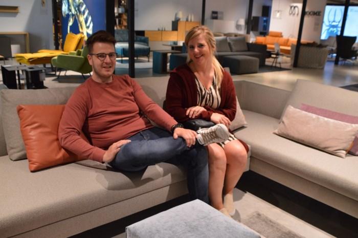 """Rustige heropening bij Top Interieur: """"Blij dat we naar hier zijn gekomen en niet naar Ikea"""""""
