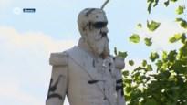 Standbeeld Leopold II in Ekeren opnieuw besmeurd