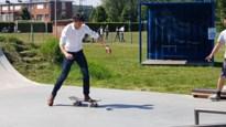 Minister Benjamin Dalle komt mee skaten