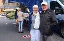 """Tevreden bezoekers en kramers op eerste weekmarkt in de Kempen: """"Hele opluchting dat het weer mag"""""""