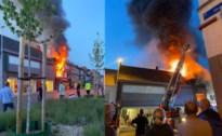Appartement boven nachtwinkel brandt volledig uit