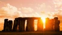Woon bijzonder Stonehenge-moment bij van achter je computer