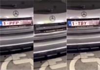 Politie neemt auto met 'draaiende nummerplaten' in beslag