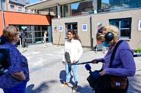 Jinnih Beels op bezoek bij noodopvang