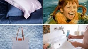 TIPS. Pippi Langkousjes en een Belgische tas met jeanslook