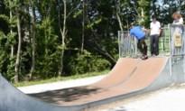 Skatepark groeit: skaters in hun nopjes
