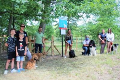 Vierde hondenlosloopzone opent in tuin van woonzorgcentrum Sint-Elisabeth