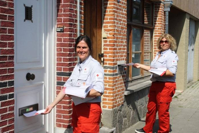 Rode Kruis onderneemt actie na tegenvallende stickerverkoop