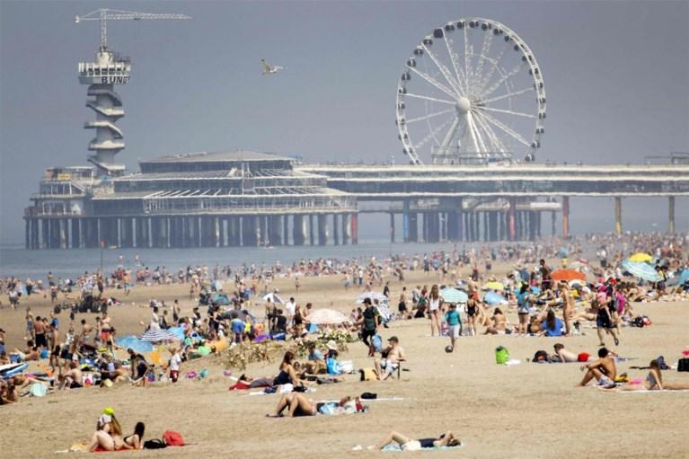 Mooie weer lokt zowat heel Nederland naar buiten, grote drukte aan Belgische kust blijft momenteel uit