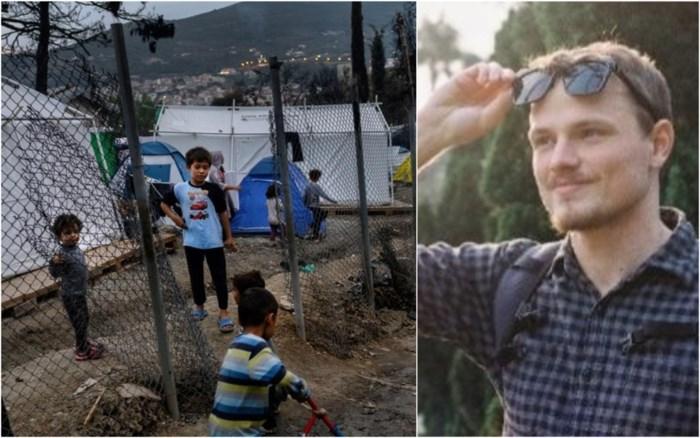"""Antwerpse vrijwilliger in Grieks vluchtelingenkamp vraagt hulp van stad Antwerpen: """"Mirakel dat corona hier nog niet is uitgebroken"""""""