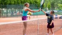 """Heistse G-tennisster slaat balletje met Yanina Wickmayer voor virtuele Spelen: """"Ze heeft me goed doen lopen"""""""