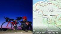 """Deelnemer Kamp Waes rijdt 'Tour de Belgique' van 1.225 km: """"Ik kon nauwelijks wakker blijven"""""""