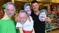 Marc Van Ranst koopt acht maskers van zichzelf bij Jokershop
