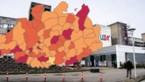 KAART. Bekijk hoe zwaar Antwerpse gemeenten getroffen zijn door corona