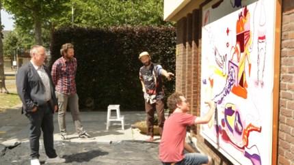 Straatcanvas in Mariaburg geeft kunstenaars nieuwe mogelijkheden