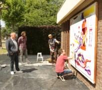 Straatcanvas in Mariaburg geeft kunstenaars weer mogelijkheden, miereneter bijt de spits af