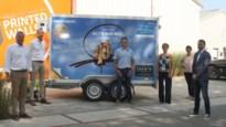 Rotary Mol schenkt koelaanhangwagen aan Actie MIN om vlees en vis te bezorgen aan mensen in nood