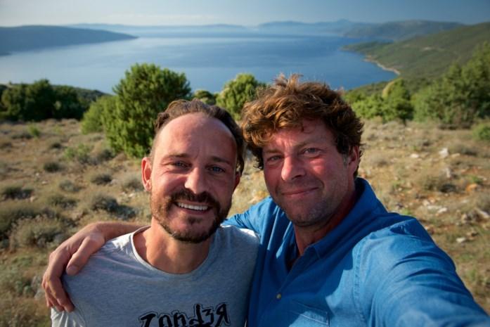 """Wim Lybaert neemt Tijs Vanneste mee in 'De Columbus': """"We moesten onze vriendschap niet faken"""""""