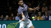 Canadees Félix Auger-Aliassime vergezelt David Goffin bij Ultimate Tennis Showdown