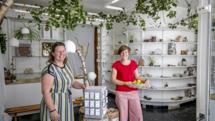 """Herentalse dames openen pop-up met eigen werk: """"Elke verkoop is een compliment"""""""