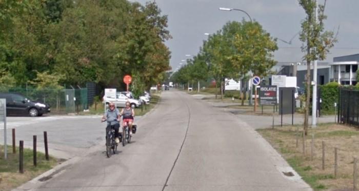 Lagere maximumsnelheid in straten zonder fietspad in industriegebied