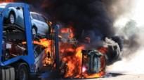 Twee doden bij serie van zware ongevallen op de E17: autotransport in lichterlaaie