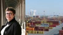 """Prof Christa Sys leert jongeren alles over containervaart: """"Een Saeftinghedok is nodig om de groeiende bevolking te bevoorraden"""""""