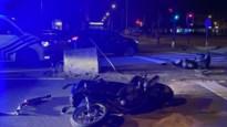 Motorrijder ernstig gewond bij aanrijding