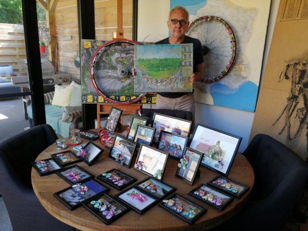 Miniatuurfietsjes worden kunstwerkjes: Paul Van Bommel vindt tijdverdrijf in lockdown