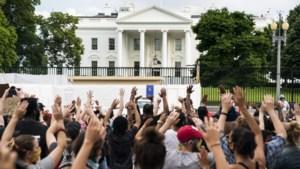 Zware protesten houden aan in VS, Donald Trump bedreigt betogers voor Witte Huis