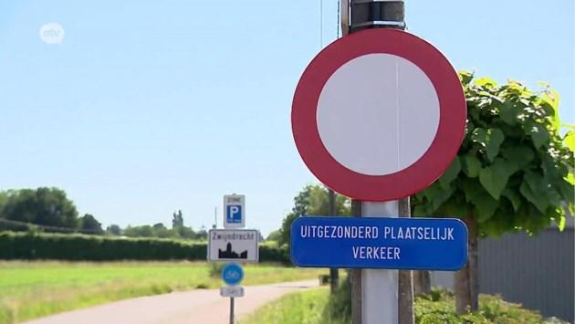 Na overlast sluipverkeer: sommige straten in Zwijndrecht verboden voor niet-inwoners