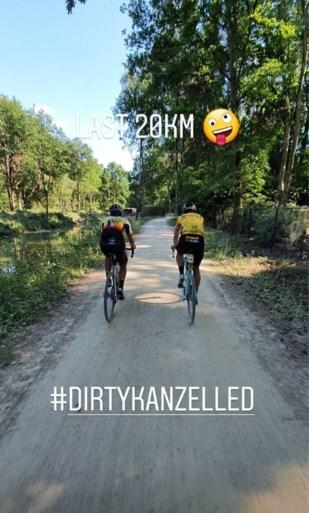 """Wout van Aert vreet 320 kilometer stof: """"Nu twee dagen rustig aan"""""""