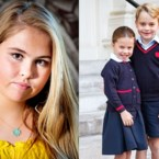 ROYALTY. De dubbelganger van prinses Amalia en groot dilemma voor William en Kate