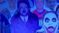 Australische sportzender moet door het stof na gebruik van Hitlerbeeld